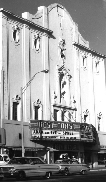 Fox West Coast Theatre exterior