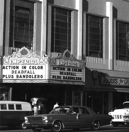 Fox Imperial Theatre exterior