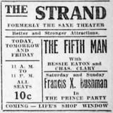 November 18th, 1914 reopening as Strand