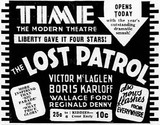 September 1st, 1934 grand opening ad as Time