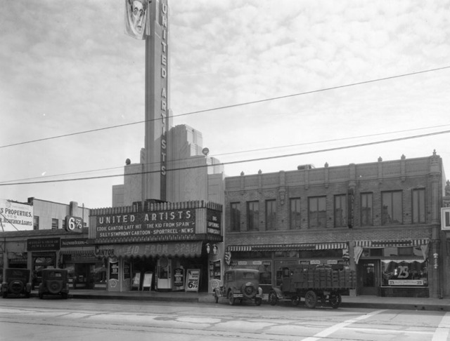 United Artists Inglewood Theatre exterior