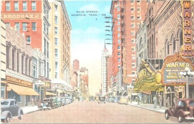 Main Street Memphis, Warner Theatre