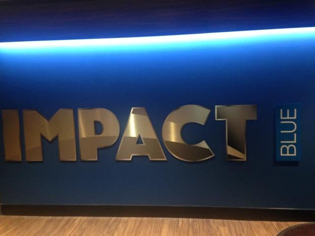 IMPACT BLUE Signage