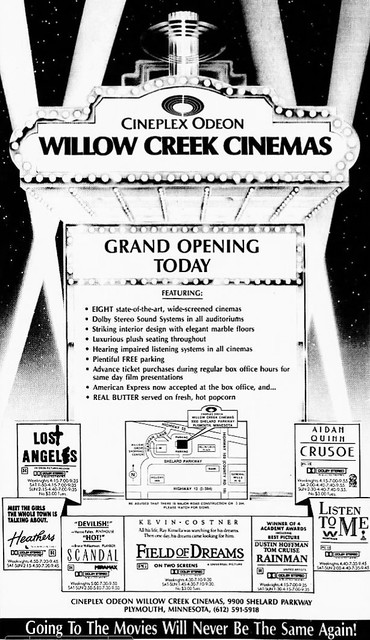 Willow Creek 12 Theatre In Plymouth Mn Cinema Treasures