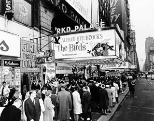 "RKO Palace Theatre ""The Birds"" engagement"