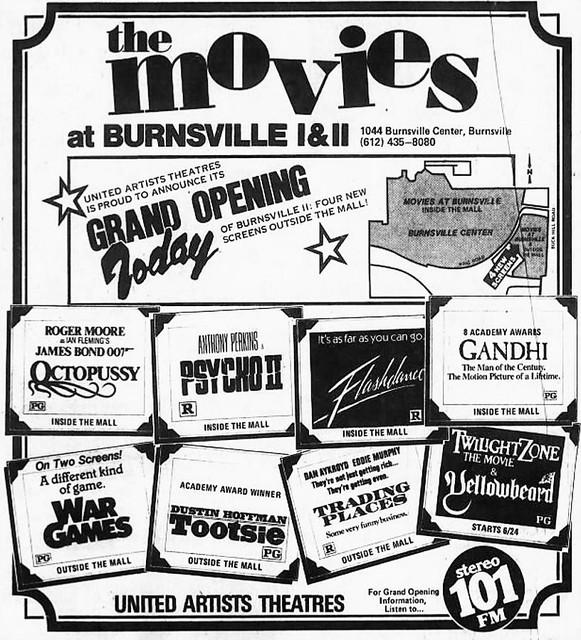Ua movies 5 8 at burnsville in burnsville mn cinema for Burnsville theater