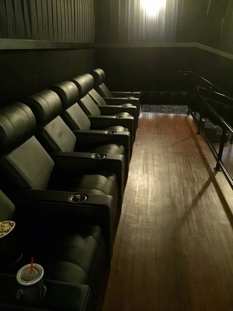 Reclining seats in every theatre