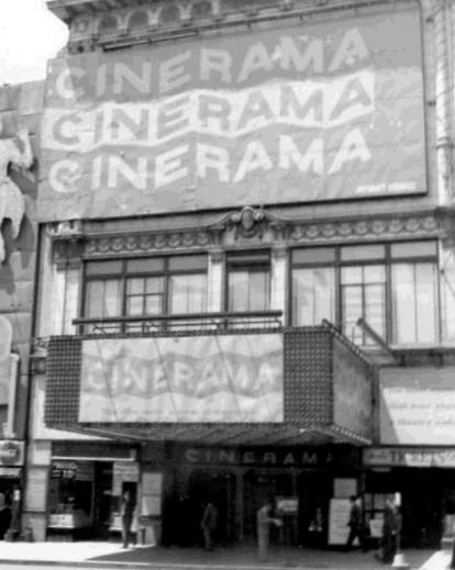 "Broadway Theatre ""This is Cinerama"" engagement"