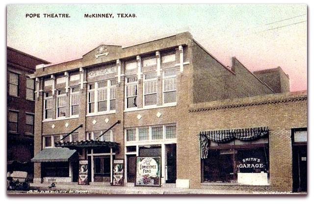 Pope Theater©...Mckinney Texas