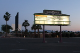 Glendale marquee at twilight