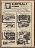 Floriland Drive-In Theatre Handbill