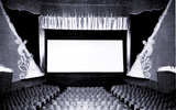<p>Late in 1953, the – then – Globe Theatre remodeled installing surround sound and a new Miracle Mirror screen to show CinemaScope films. The screen is 37.6' W x 21' H compared to the old 24'x18' screen.</p>