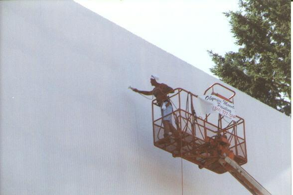Painting close up in 2000