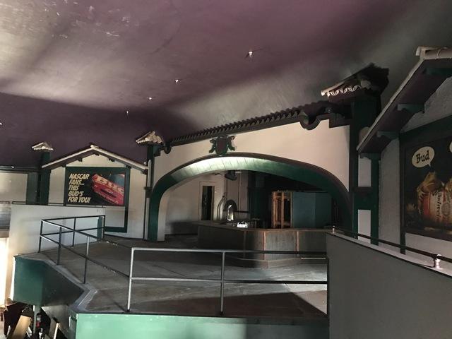 interior view of Playhouse, 2017.