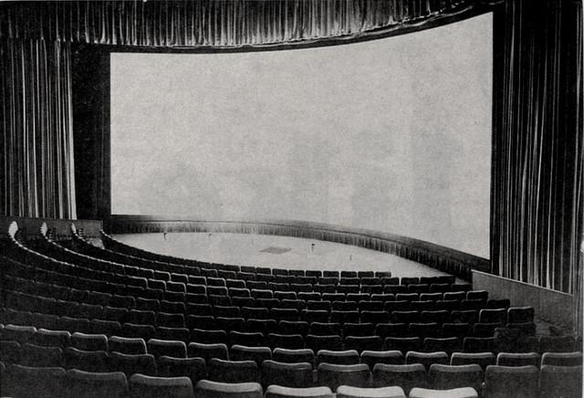UA Cinema 150 screen (70 foot)