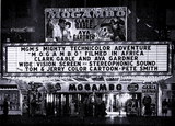 "<p>Classic marquee topper for ""Mogambo"" in 1953 at the, the, Loew's State Theatre in Syracuse.</p>"