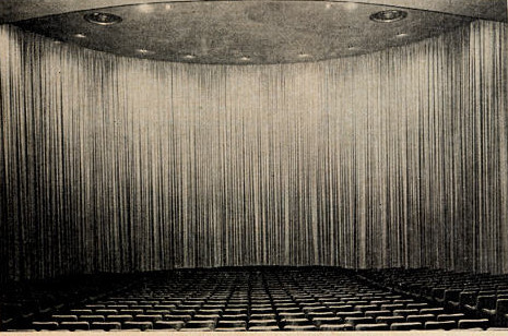 UA Cine 150 Theatre auditorium  (A D-150 Theatre)