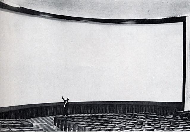 Metropolitan's Camelot Theatre D-150 screen (68 x 30)