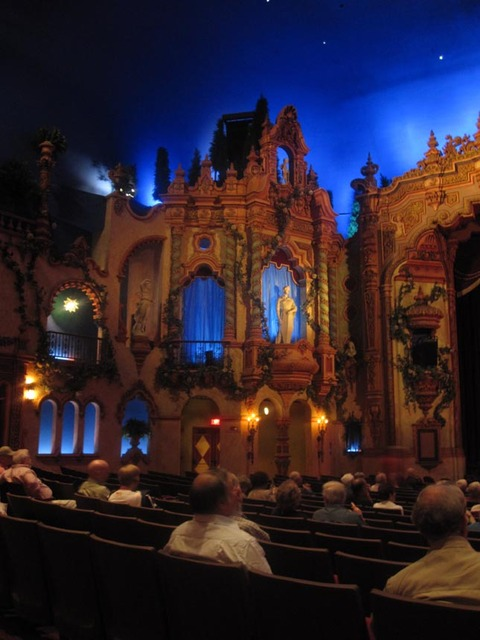Akron Civic Theatre - Orchestra Section