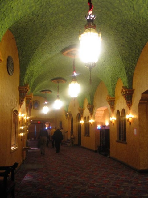 Akron Civic Theatre - Balcony Foyer