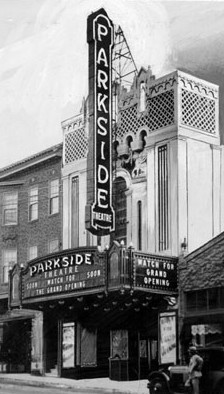 Fox Parkside Theatre  Opening exterior