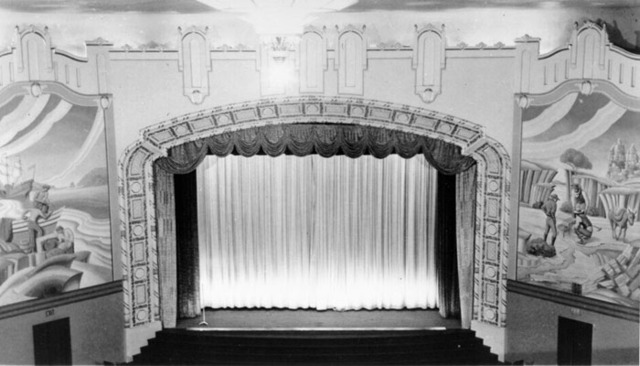 Fox Parkside Theatre auditorium