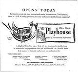 November 8th, 1951 grand opening ad