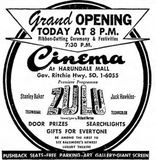 July 16th, 1964 grand opening ad