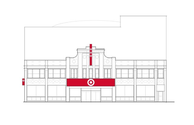 Former UA Walker Theatre as a Target Store