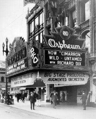 RKO Orpheum Theatre exterior