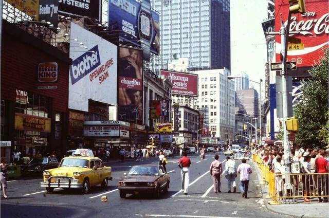1980 photo courtesy of Al Ponte's Time Machine - New York Facebook page.