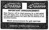 Harundale Cinema I & II