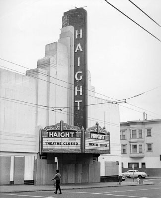 Haight Theatre exterior