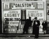 street advert from 1936