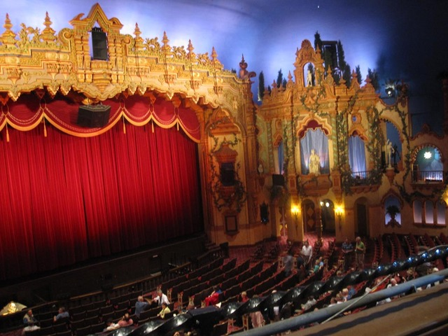 Akron Civic Theatre - Balcony View