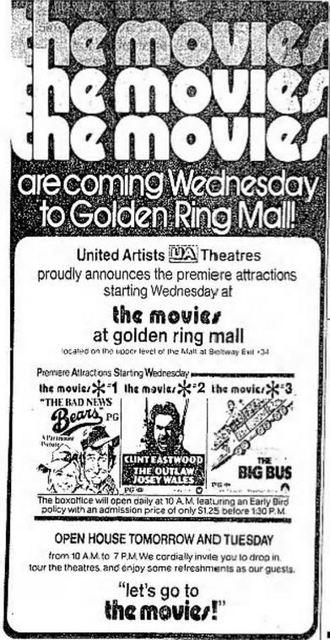 Movies at Golden Ring