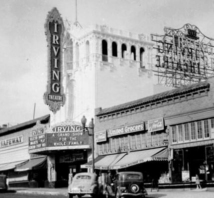 Irving Theatre exterior