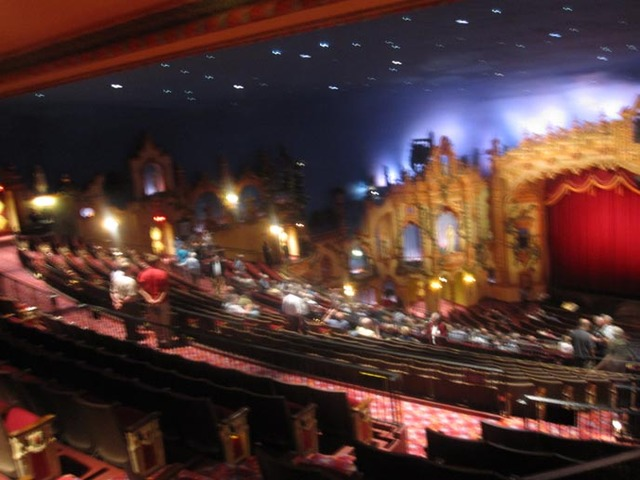 Akron Civic Theatre - View from rear balcony