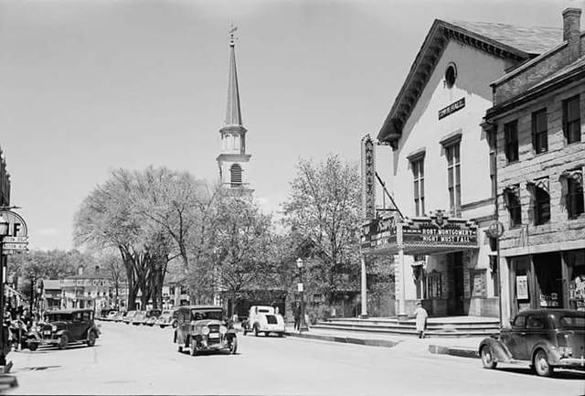 AUDITORIUM Theatre; Brattleboro, Vermont.