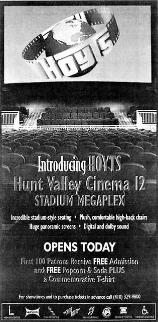Regal Hunt Valley Stadium 12