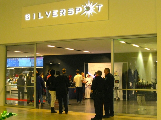 University Place mall entrance for Silverspot Chapel Hill