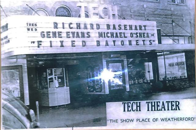 tech theatre in weatherford ok cinema treasures