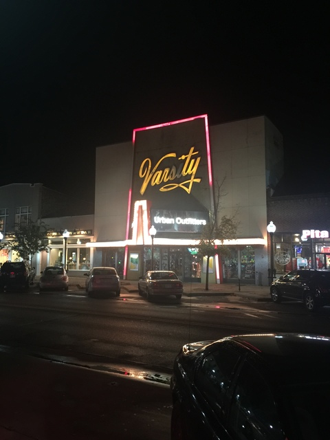 Varsity theater November 2016
