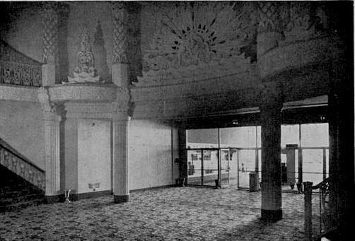Fox Wilshire Theatre  1960 Remodel Lobby area