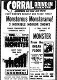 3 Horrible Horror Shows