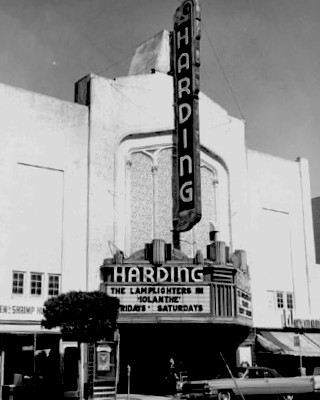 Harding Theatre exterior