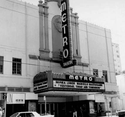 Metro Theatre exterior
