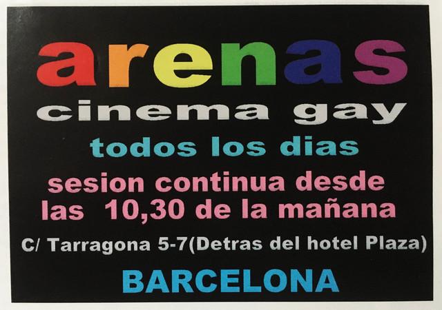 arenas cine gay
