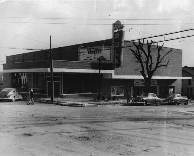 Polk Theatre 1951