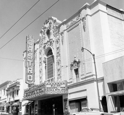 Castro Theatre exterior